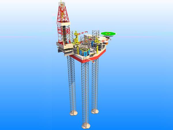 自升式钻井平台
