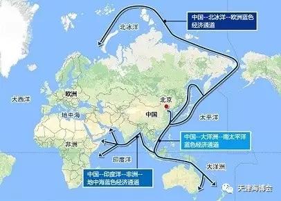 其一,以中国沿海经济带为支撑,连接中国-中南半岛经济走廊,经南海